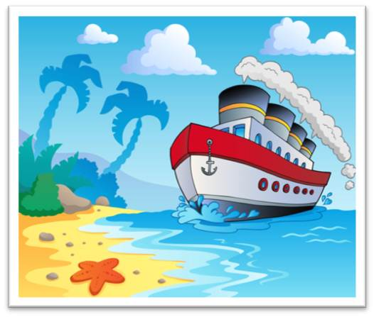 free clip art cartoon cruise ship - photo #43